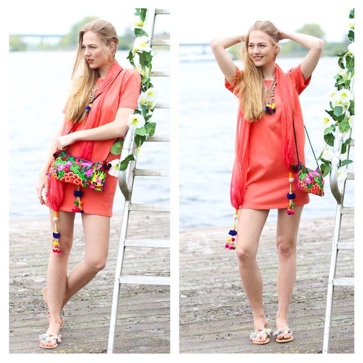 #bloved #dress #clothes #clothing #b-loved #b.loved #jurk #kleding #ibiza #boho #lake #catwalk #shooting