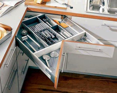 Las 25 mejores ideas sobre armarios de cocina de esquina for Ikea muebles cocina bajos