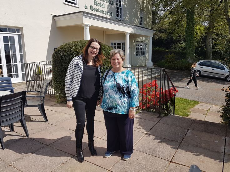 World Book Night event April 2017 at Stoke Lodge Hotel. Julie Archer and Annette Shaw. www.stokelodge.co.uk #stokelodge #southdevon #dartmouth