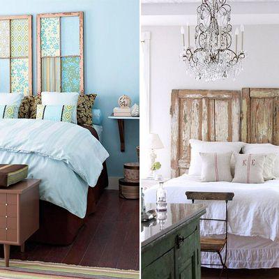 hazlo t mismo ideas para montar un cabecero de cama nico