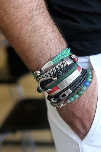 aquaskye: Stylish Men who Rock Jewelry - Johnny Depp - Kanye West - Karl Lagerfeld - Men's Style
