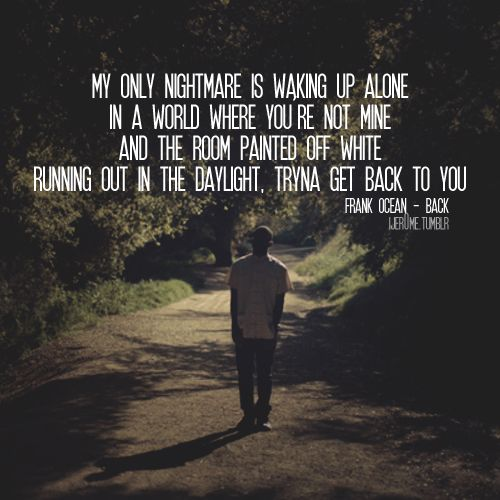 Waking Up Alone inspirational military quotes