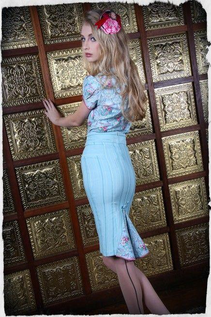 La Belle Paris Pencil Skirt