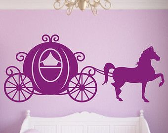 cinderella horse and carriage silhouette - Google Search