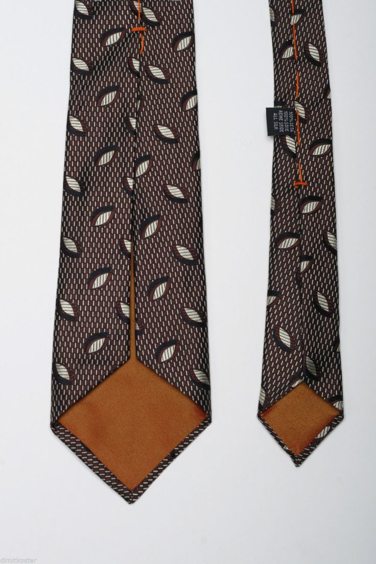 New Mens Tie 100% Silk Seven Fold Tie, FREE SHIPPING, RED in Clothes, Shoes & Accessories, Men's Accessories, Ties, Bow Ties & Cravats   eBay