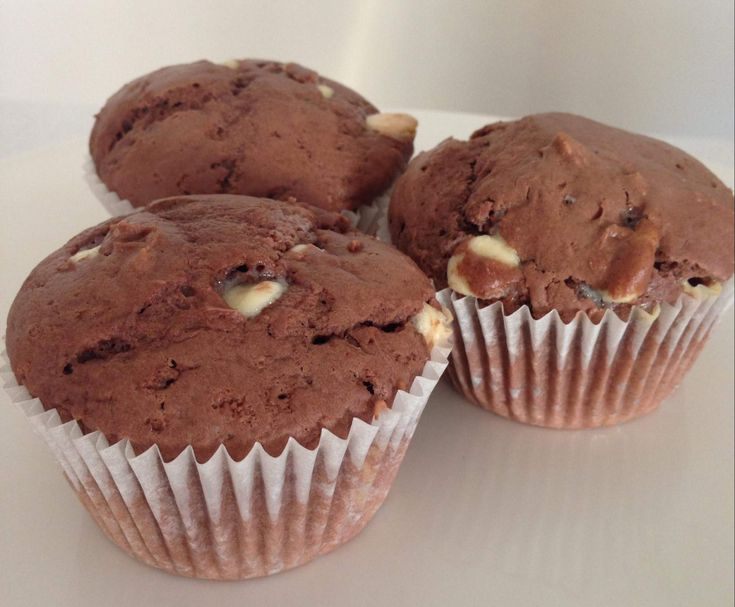 Double Chocolate Chip Muffins by cbcory on www.recipecommunity.com.au