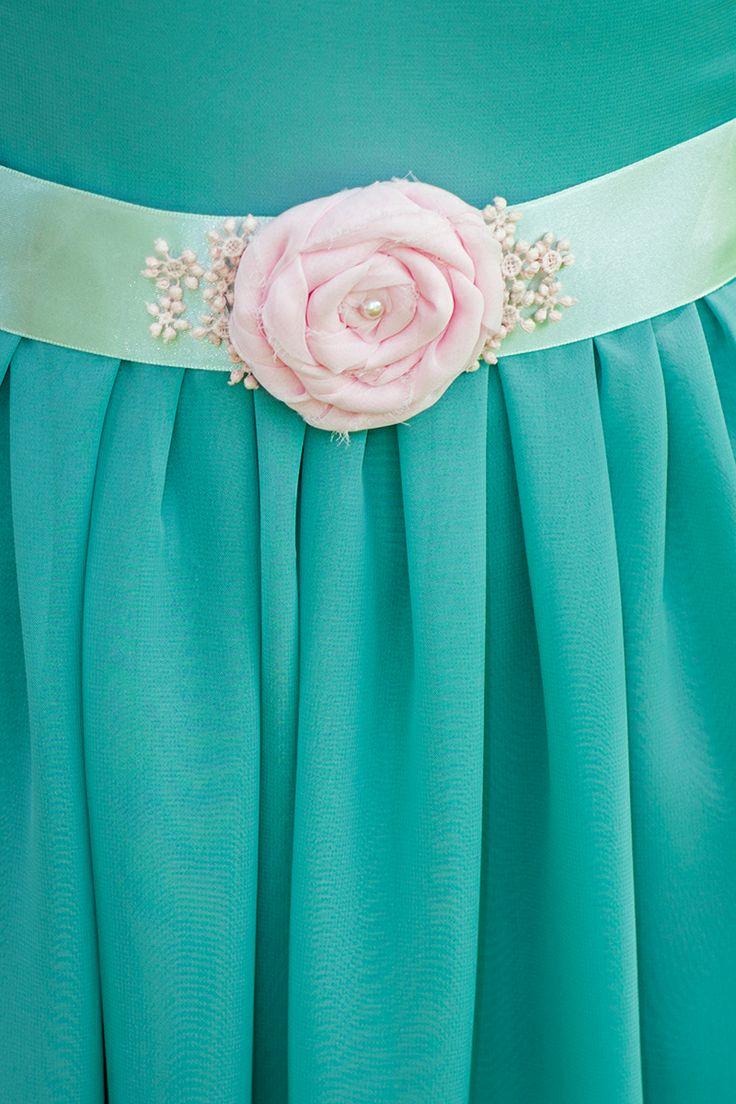 'Pink and Minty' Belt (50 LEI la Nunny.sDiary.breslo.ro)