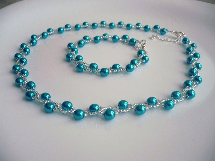 Handmade necklace/Handmade náhrdelník ...ZUZANA... www.anabelhandmade.sk