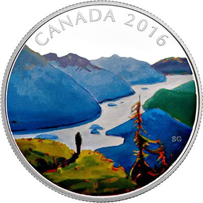 Buy Now: http://www.coincommunity.com/rcm/itm/prod2760012  RCM New Releases: 2016 1 oz. Pure Silver Coloured Coin – Canadian Landscape Series: Reaching the Top - Coin Community Forum