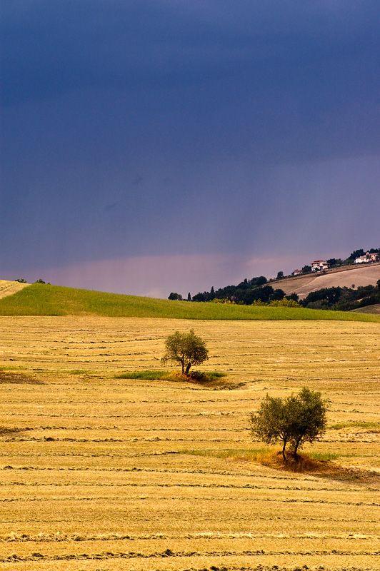 Summer storm, Le March, Italy Copyright: Martijn Leensen