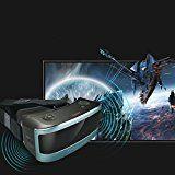 VR-one 3D Gafas de cine Realidad virtual Juego de casco Headset 1080P CPU de ocho núcleos Sharp HD Panorámica de pantalla ( Color : Azul ) - http://themunsessiongt.com/vr-one-3d-gafas-de-cine-realidad-virtual-juego-de-casco-headset-1080p-cpu-de-ocho-nucleos-sharp-hd-panoramica-de-pantalla-color-azul/