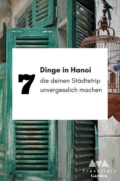 Sehenswürdigkeiten Hanoi