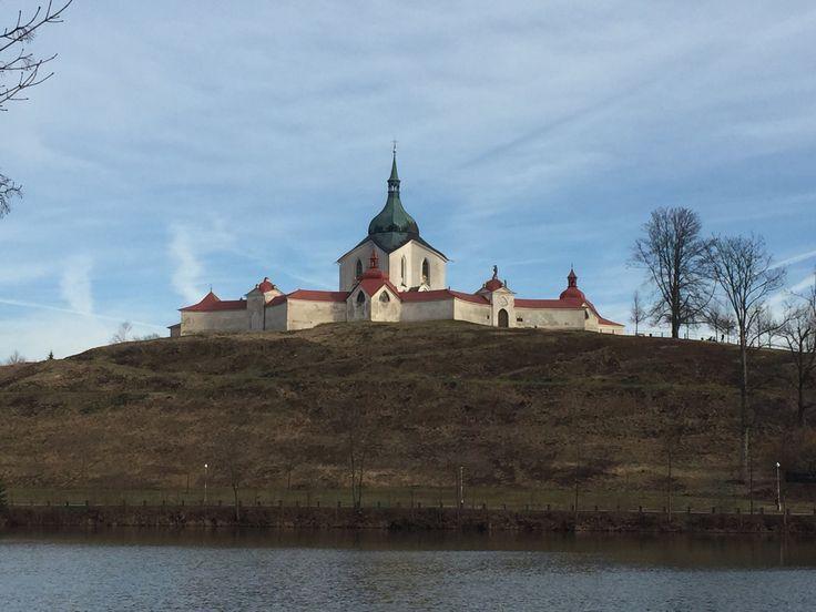 Poutni Kostel Sv. Jana Nepomuckeho Na Zelene Hore - Zdar nad Sazavou