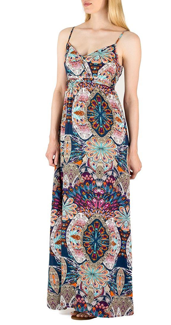 Moroccan Dreams Maxi Dress