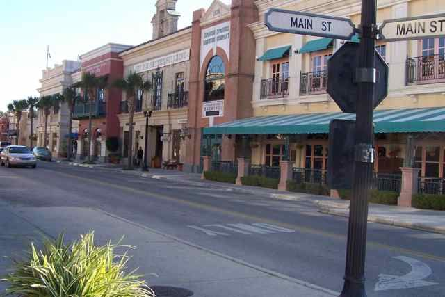 If you're looking for a large 55+ community, it doesn't get any bigger than The Villages in Florida. The community is home to seven shopping centers!
