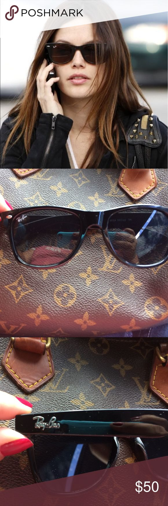 Ray ban wayfarer Ray ban wayfarer classic black sunnies. New no scratches! Perfect 10 condition. Ray-Ban Accessories Sunglasses
