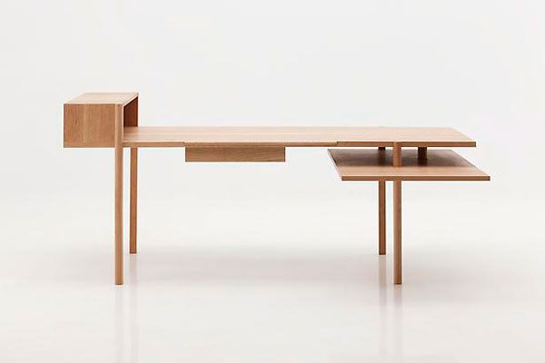 Desk Trans 13, cherry, by Bahk Jong-Sun (Korea)