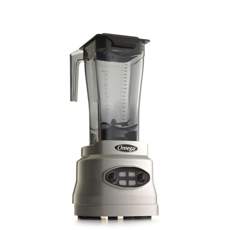 Omega TF6064S High Performance Blender with a commercial grade motor. Suggested retail price: $449.95
