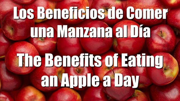 Beneficios de comer una manzana al día  Benefits of eating an apple a day