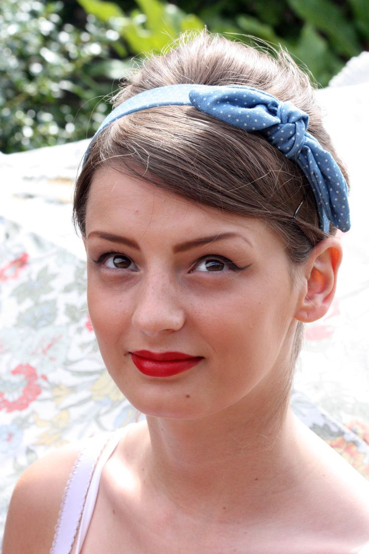 1940s/50s inspired makeup looks recreated AUB Summer