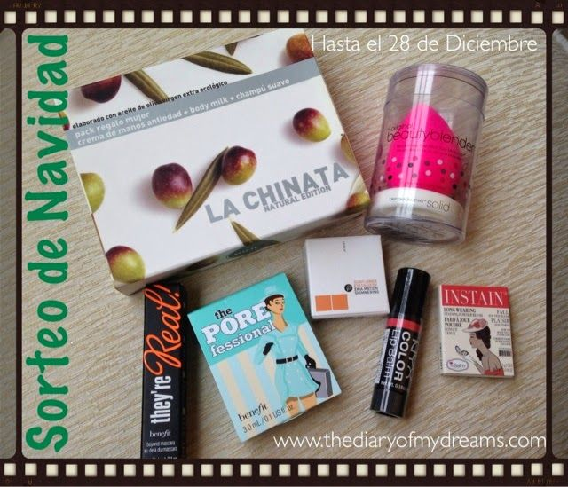 The Diary of My Dreams: Sorteo de Navidad [Benefit, La Chinata, The Balm, ...