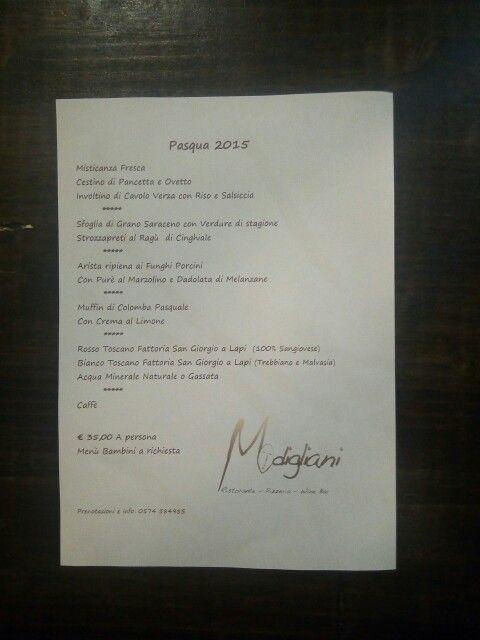 La nostra proposta per il vostro pranzo di Pasqua