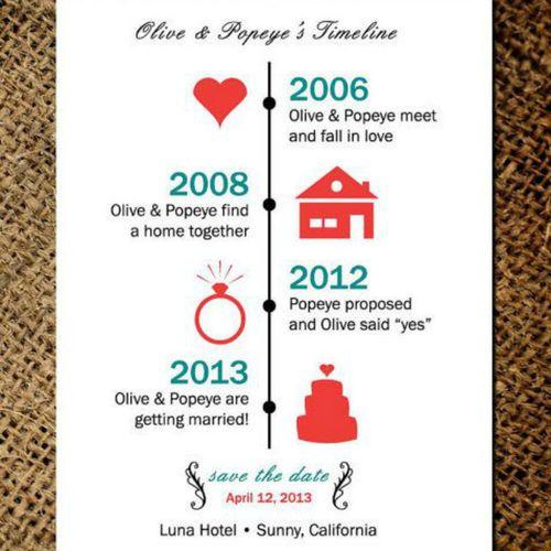 faon calendrier 20 faire part de mariage - Calendrier Noce De Mariage