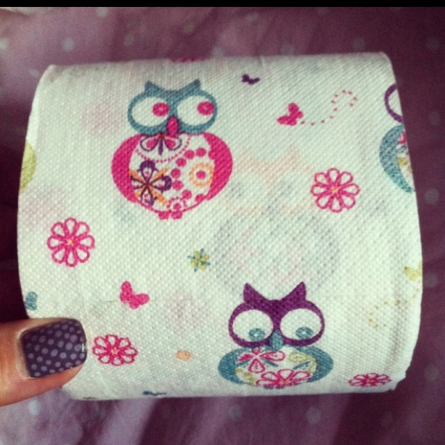 Owl Toilet Paper made By Andrex -Limited Bright and bold collection! A Kimberly Clark company in the UK! I need this !!