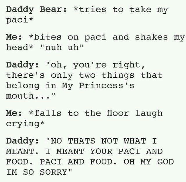 Daddy girl dd lg dating