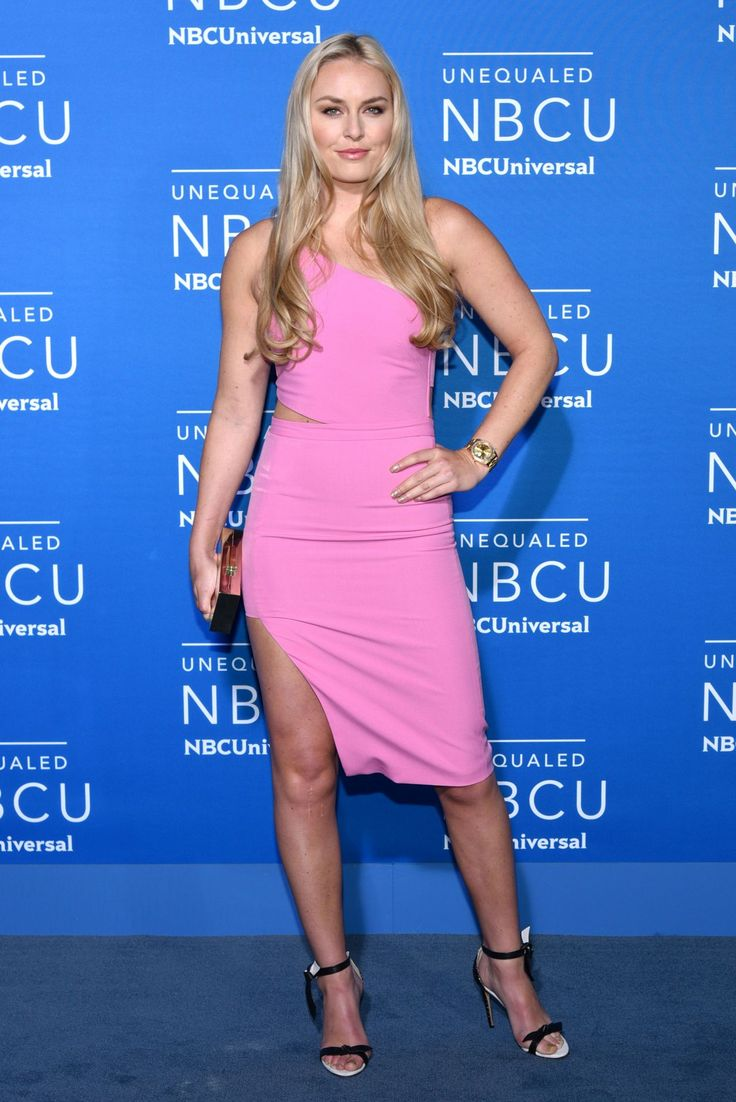 Lindsey Vonn at the NBCUniversal Upfront, New York City (15 May, 2017)