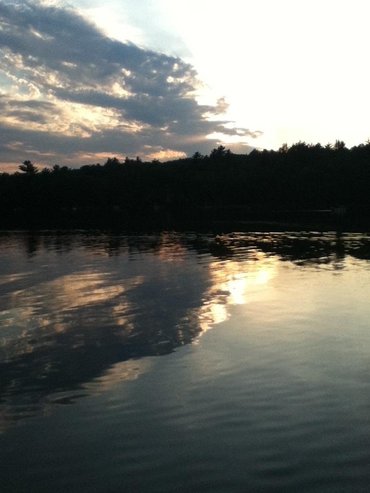 Evening fishing on deerskin lake eagle river wisconsin for Lake wisconsin fishing