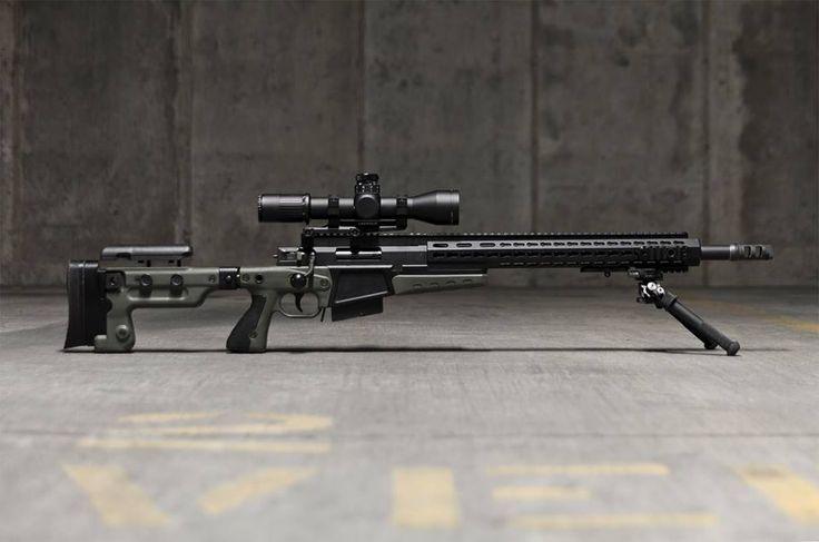 Accuracy International Ltd AX 308, Leupold Tactical 3-18x Mark 6, B&T Industries Atlas V8.1 Bipod