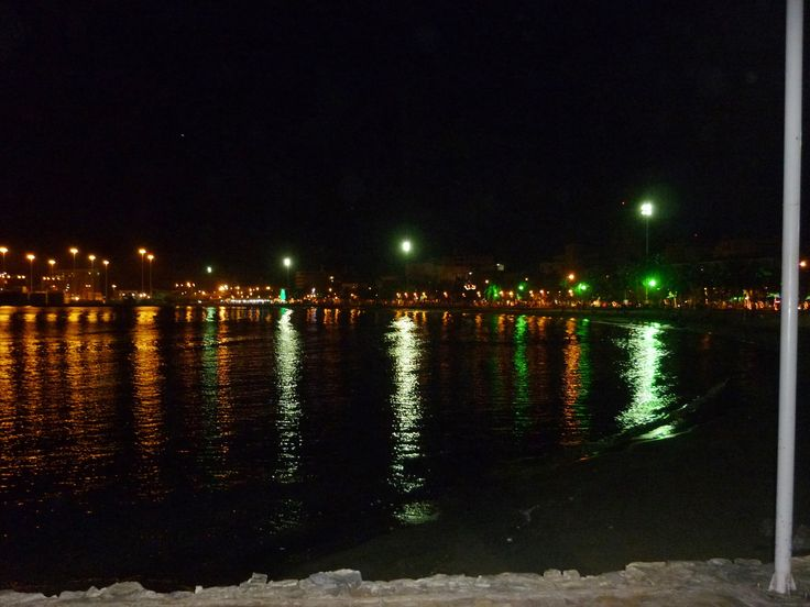 Bahía de Santa Marta nocturna