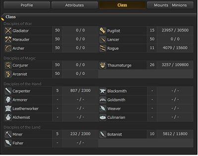 FFXIV Account, Final Fantasy 14 Account