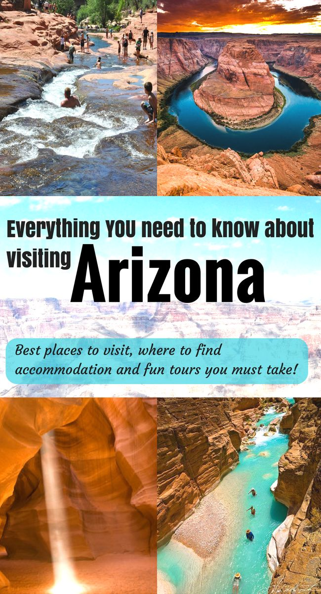 Visit Arizona! Best places to see and travel tips and resources.