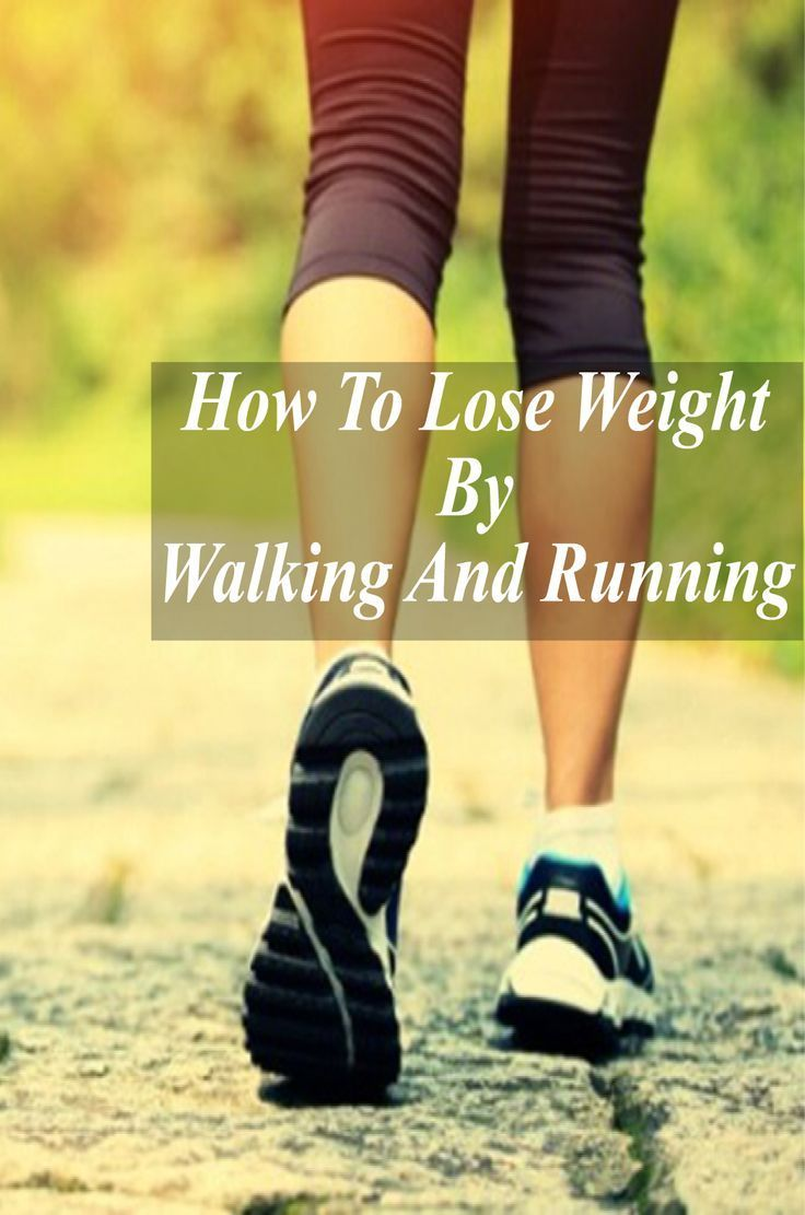How To Lose Weight By Walking And Running 4 Simple Tips !