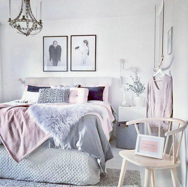 Teenagers Rooms Nuance: 50 Fotos De Quarto De Casal Cor De Rosa