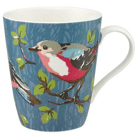 Buy Cath Kidston Stanley 'Small Garden Birds' Mug Online at johnlewis.com