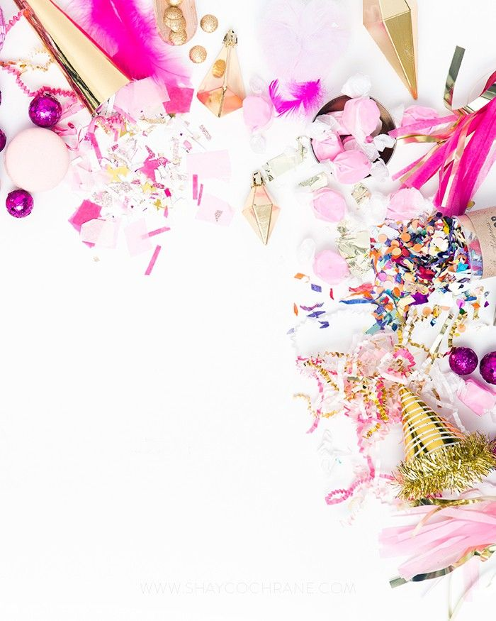 Styled Stock Photography for bloggers and business owners.Web Marketing. Social Media Marketing. Advertising. Shay Cochrane. SC Stockshop.Product Styling, Prop Styling and Photography by Shay Cochrane www.shaycochrane.com | party, party styled stock, desktop, beautiful workspace, styled stock photography, business, pink and gold