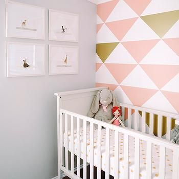 Serena and Lily Soho Crib, Transitional, nursery, Green Wedding Shoes