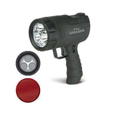 Cyclops Sirius Battery Operated LED Handheld Spotlight - 300 Lumen - CYC-9WS, GOOS004-1