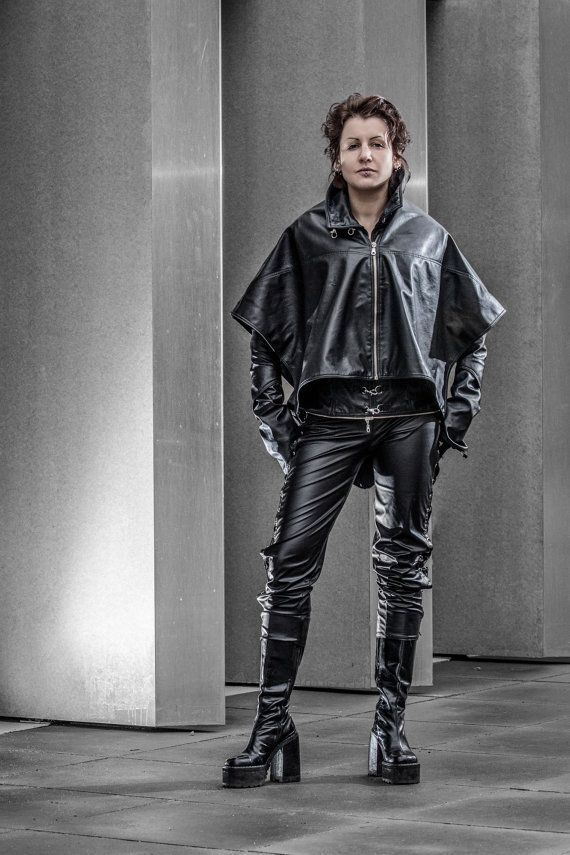 Designer of the project is Kamila Maślak also known as a Louve Shevolf- member of this shop!  Show your edgy side in the Harley Lace Up Pants.