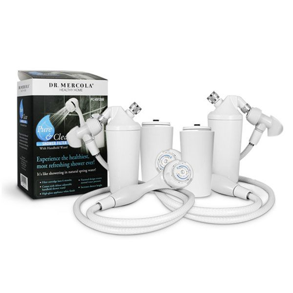 Our Shower Filter removes 90% of chlorine immediately and stays effective years longer than the competition. http://waterfilters.mercola.com/shower-filter.aspx
