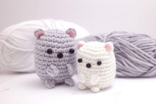 Amigurumi Kawaii Bears - FREE Crochet Pattern / Tutorial