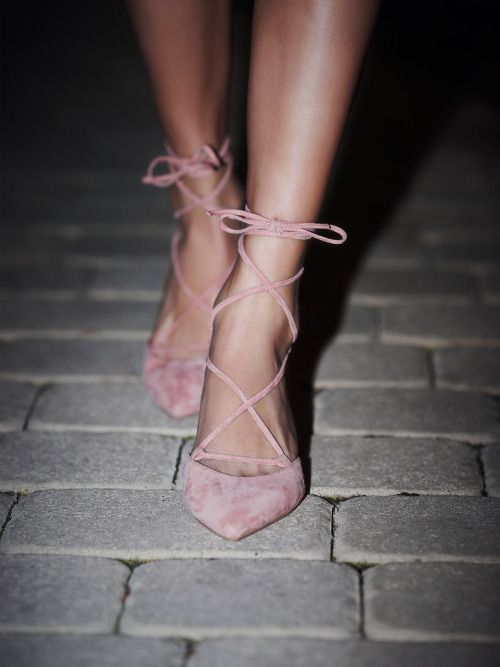 . More Shoes, Kitten Heels, Style, Clothing, Lace Up Heels, Kittens Heels, Pink, Free People, Ballerinas Heels Jeffrey Campbell   Free People Andra Kitten Heel// #suede #heels #sandals #HeeledSandals #LaceUps #fashion #style #stylish #JeffreyCampbell #FreePeople @freepeople Ballerina heels #Pink #Heels #Summer #Chic #Style #TuesdayTreat Actually swooning over these amazingly sexy shoes! They are perfect. I love them in pink, but they come in black as well. Free People Andra Kitten Heel…