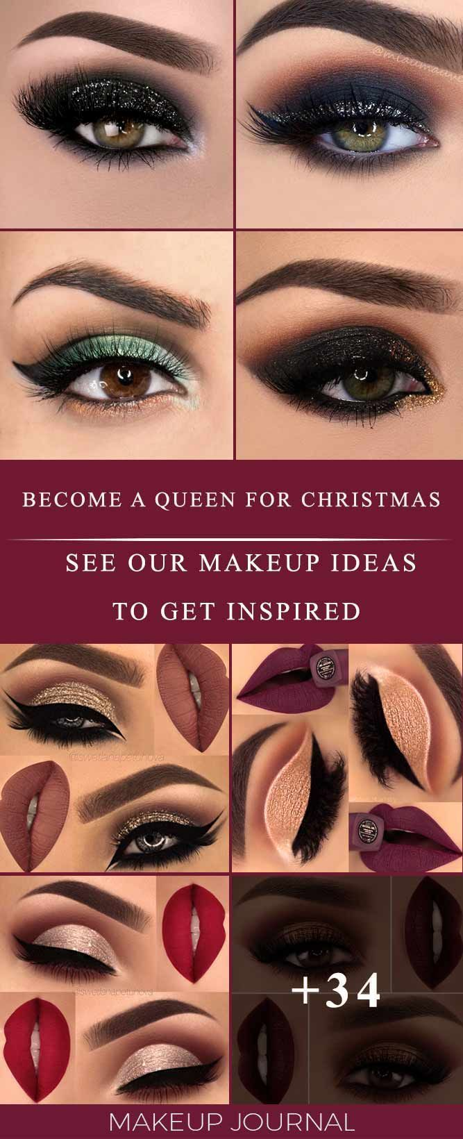 Christmas Makeup Ideas to Take You from Morning toNight