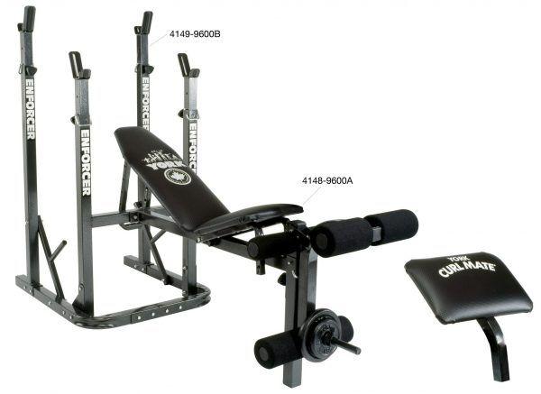 York Enforcer 9600 A Bench Home Gym Equipment No Equipment Workout Home Workout Equipment Best Home Workout Equipment