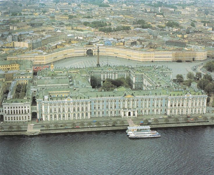 [The State Hermitage Museum is located at the Winter Palace in Saint Petersburg, Russia.]