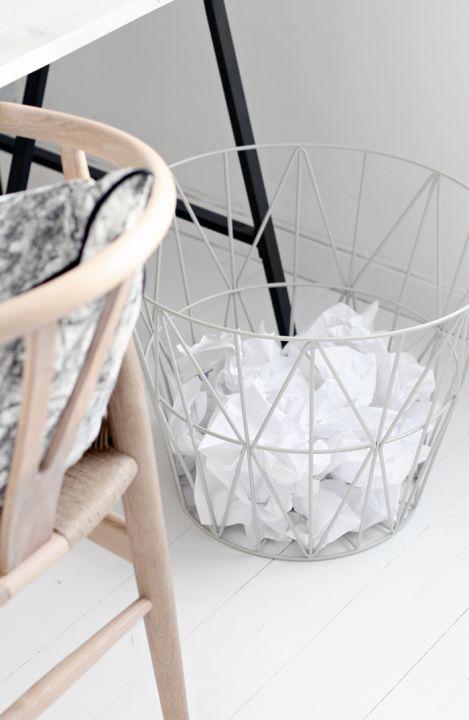 Papirkurv - Ferm Living Wire