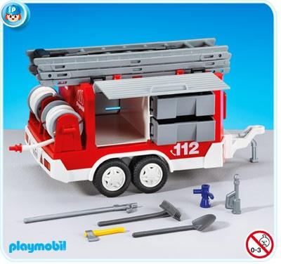 PLAYMOBIL® Feuerwehr-Anhänger
